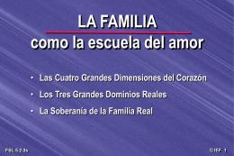La Familia es la escuela del amor [49-d]