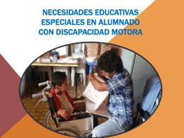 NECESIDADES EDUCATIVAS ESPECIALES EN ALUMNADO …