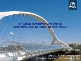 STRATEGIC PLAN REVIEW AND UPDATE