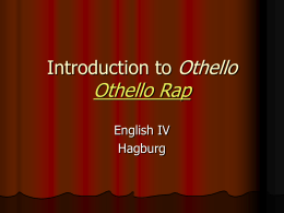 Introduction to Othello - Summit School District / Overview