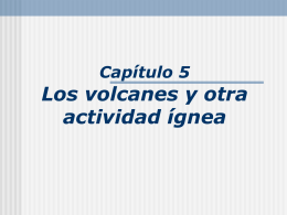 Volcanoes and Igneous Activity Earth
