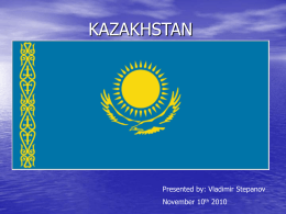 KAZAKHSTAN is our HOMELAND!!!