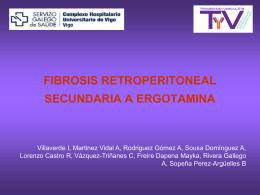 FIBROSIS RETROPERITONEAL SECUNDARIA A ERGOTAMINA