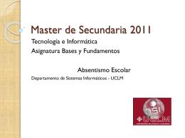 Master de Secundaria 2010