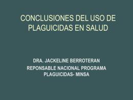 CONCLUSIONES EN SALUD - RAP-AL