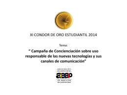 Diapositiva 1 - condor de oro