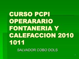 CURSO PCPI OPERARARIO FONTANERIA Y CALEFACCION …