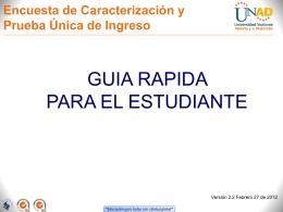 Diapositiva 1 - Bienvenidos a miUNAD