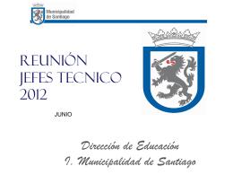 Diapositiva 1 - DEM SANTIAGO