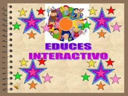 Software Educativo Interactivo