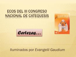ECOS del III Congreso Nacional de Catequesis