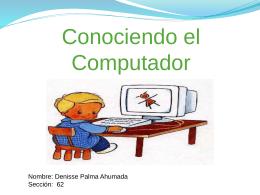 Conociendo el Computador