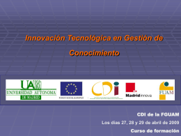 Diapositiva 1 - TUAM Consulting