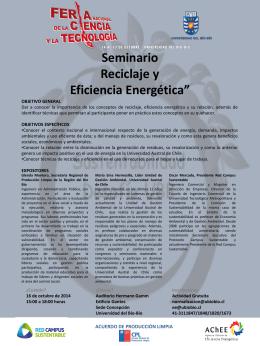 """Seminario """"Estructura de Conocimiento, Modelo y"""