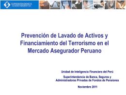UIF Peru - Presentacion Mexico