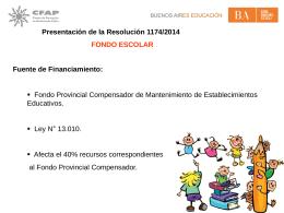 Diapositiva 1 - Consejo Escolar General Pueyrredon