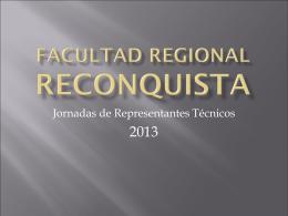 Facultad regional reconquista