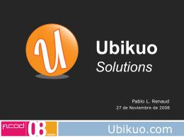 UBIKUO.COM - Networking Activo