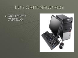 LOS ORDENADORES - iespablogargallo