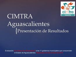 CIMTRA Aguascalientes