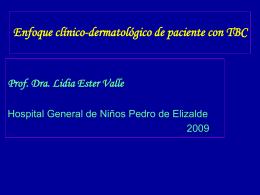 Diapositiva 1 - DRA LIDIA VALLE