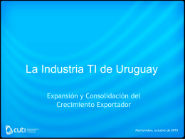 LA INDUSTRIA DE TI EN URUGUAY