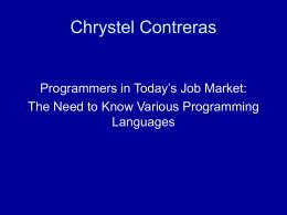 Chrystel Contreras