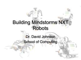Building Mindstorms NXT Robots