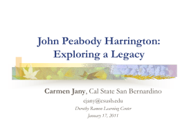 Chimariko in Areal and Typological Perspective