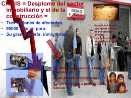 Los inmigrantes y la crisis