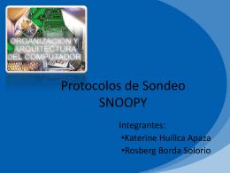 Protocolos de Sondeo
