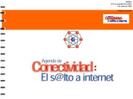 FTAA.ecom/inf/141/Add.4 5 de junio de 2002 Agenda de
