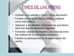 FINES DE LAS AMPAS