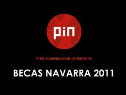 Lanzamiento I Convocatoria Becas Fulbright Navarra