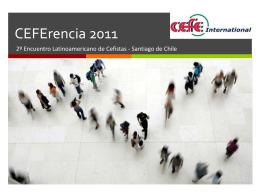 CEFErencia 2011