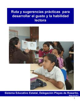 Cuadernillo de actividades que favorecen el desarrollo