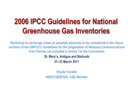 2006 IPCC Guidelines for National Greenhouse Gas …