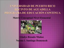 Universidad De Puerto Rico Recinto de Aguadilla …