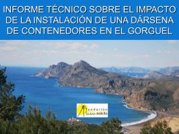 Impactos Puerto en El Gorguel