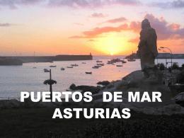 Puertos de mar de Asturias