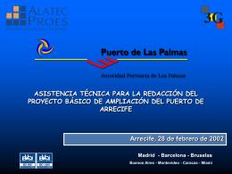 Company Presentation - Centro de datos : Lanzarote