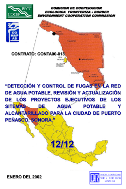 PROYECTO EJECUTIVO DE REHABILITACION, …