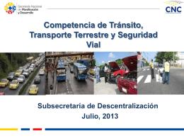 Diapositiva 1 - Consejo Nacional de Competencias
