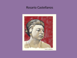 Rosario Castellanos