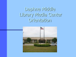 The Library Media Center