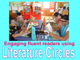 What are literature circles?