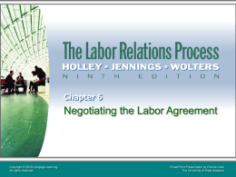 The Labor Relations Process 9e.