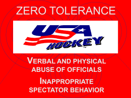 ZERO TOLERANCE - LeagueAthletics.com