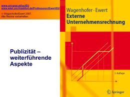 Externe Unternehmensrechnung