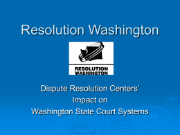 Resolution Washington